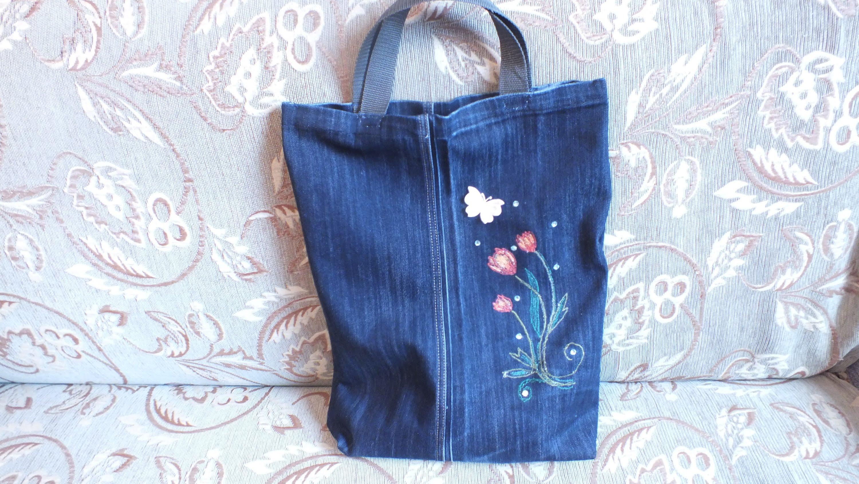 Сшить сумку по выкройке из пакета